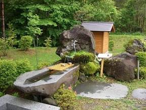御嶽山の天然水